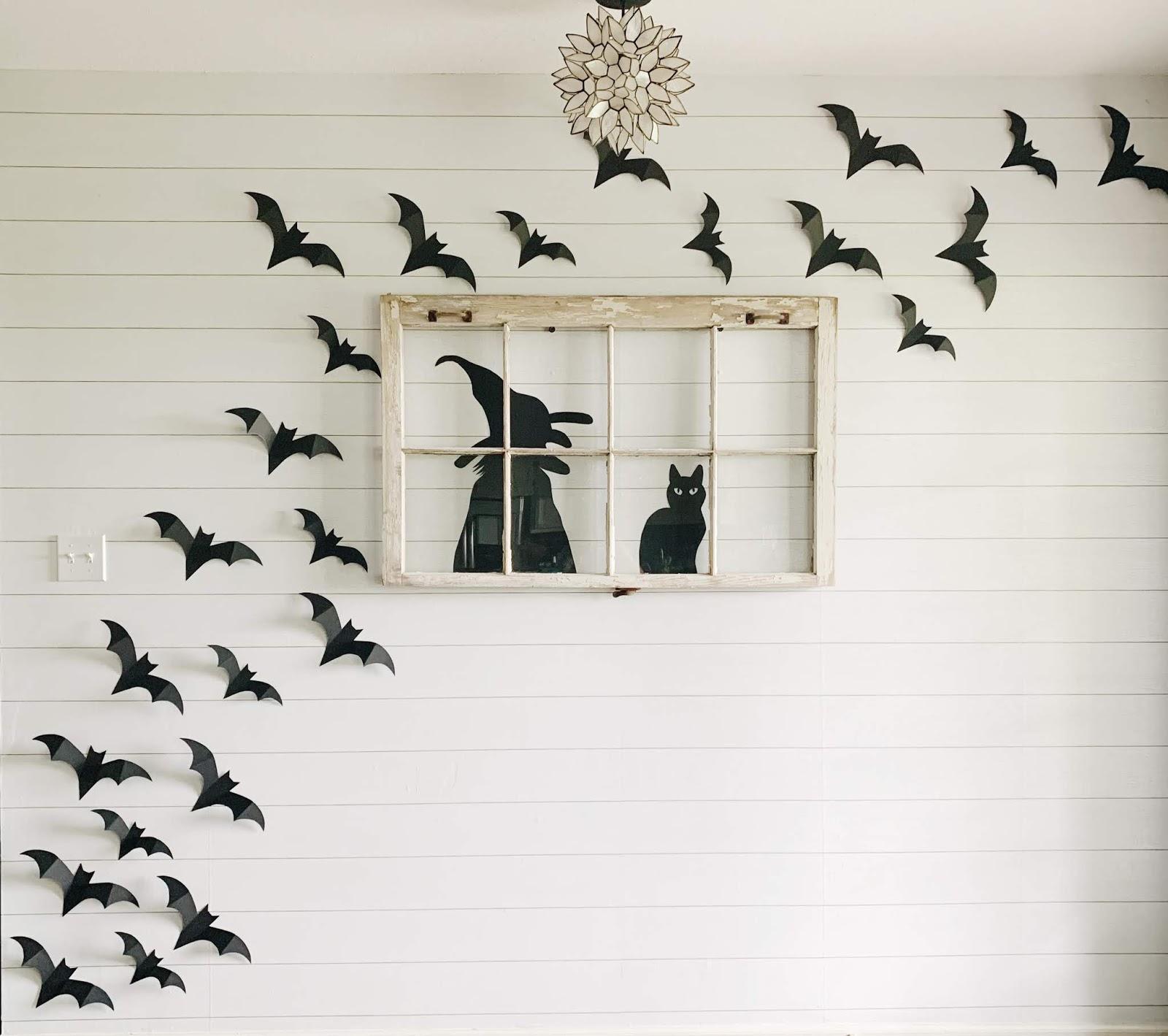 DIY Halloween Bats - Midwestern Mama